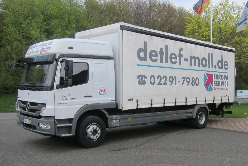 Autovermietung Moll PKW LKW Transporter Baufahrzeuge Mieten